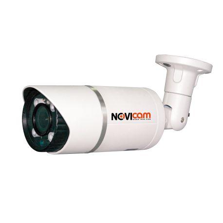 Уличная AHD 720p ИК-видеокамера с вариофакальным объективом AC19WX, Novicam